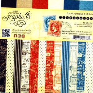 Papel scrap Cityscapes Graphyc45 scrapbooking,cardmaking