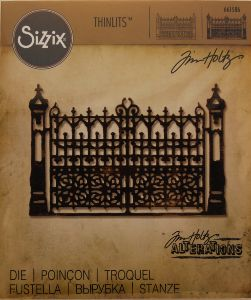 Troquel Tim Holtz Gotic Gate scrapbooking,embossing