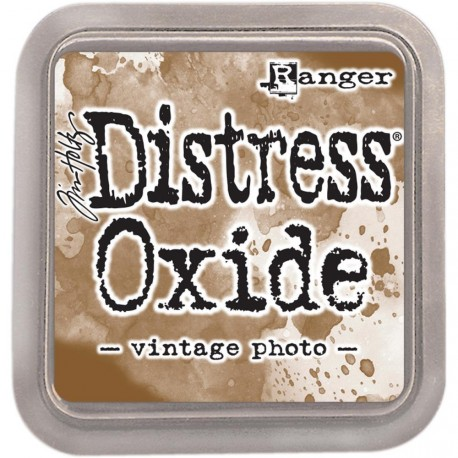Tinta distress óxido vintage photo para scrap y cardmaking