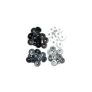 eyelets anchos scrap color gris, eyelets anchos scrapbooking color gris, eyelets anchos cardmaking color gris, eyelets anchos tarjeteria color gris, eyelets anchos manualidades color gris