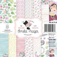 "Stack papel scrap Amelie ""Watercolor"""