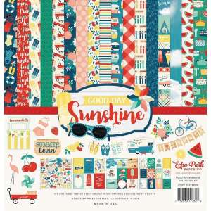 papel scrap good day sunshine, papel scrapbooking good day sunshine, papel scrap echo park good day sunshine