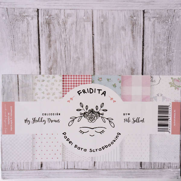 papel scrap shabby dreams by pili sallent, papel scrap romántico pili sallent, papel scrapbooking shabby dreams pili sallent, papel manualidades tonos suaves