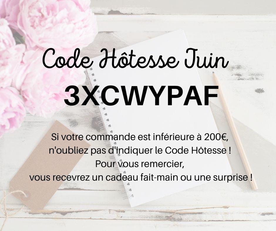 Code Hôtesse Juin