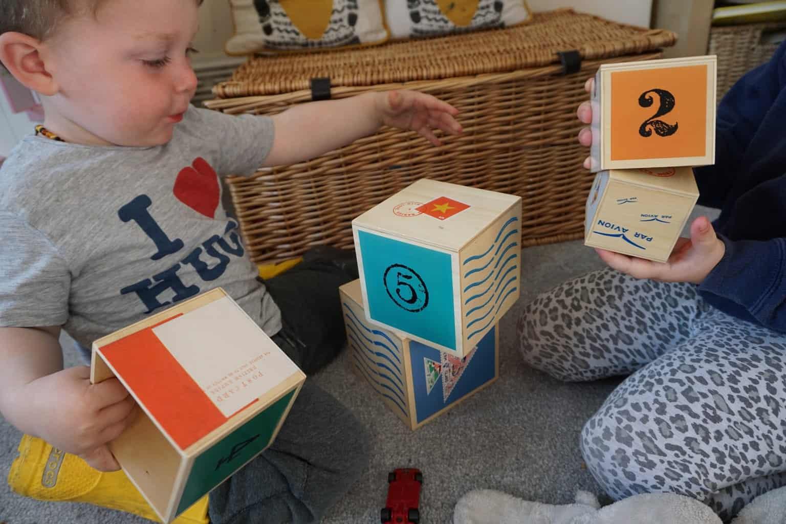 Rockin Baby wooden stacking blocks