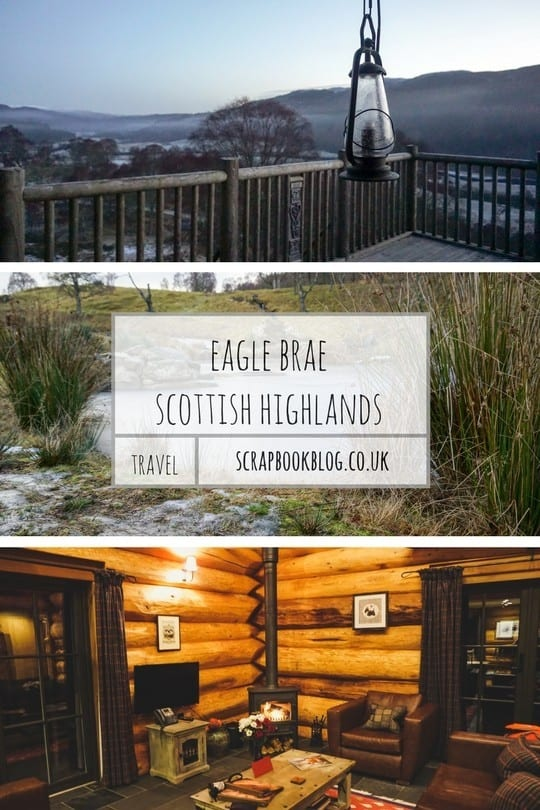 Eagle Brae, luxury log cabin holiday