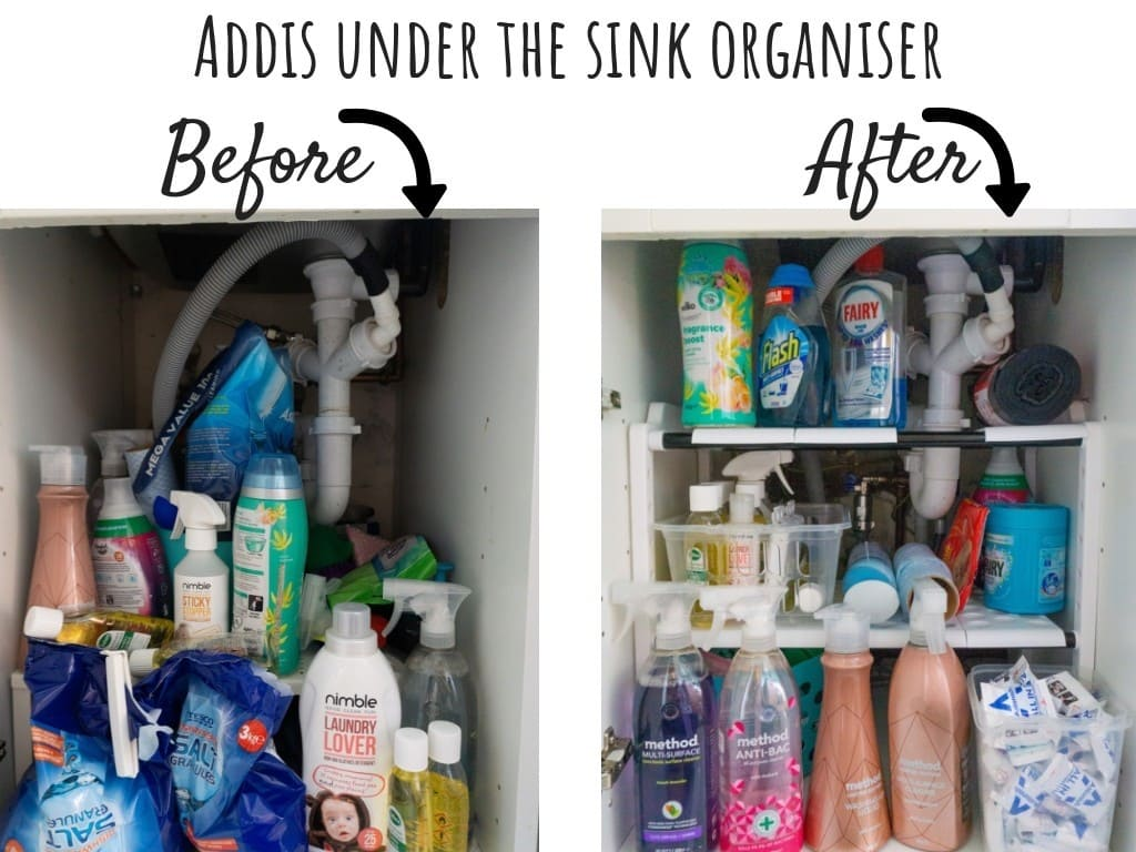 Addis under the sink organiser