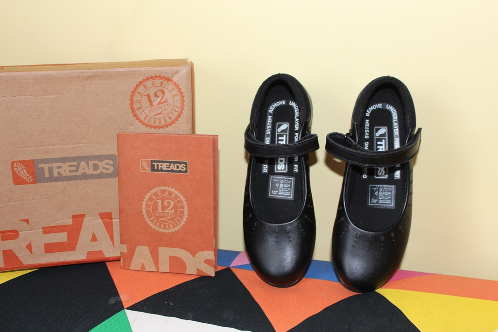 treads girls school shoe review