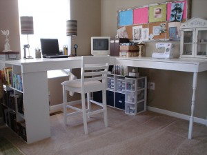 Tutorial make your own craft desk scrap booking jannypie crafts has a step by step tutorial showing you how to make this great desk yourself this would be a great weekend project go to tutorial solutioingenieria Images