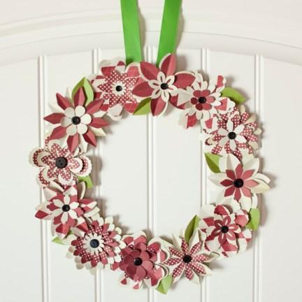 MM paper wreath