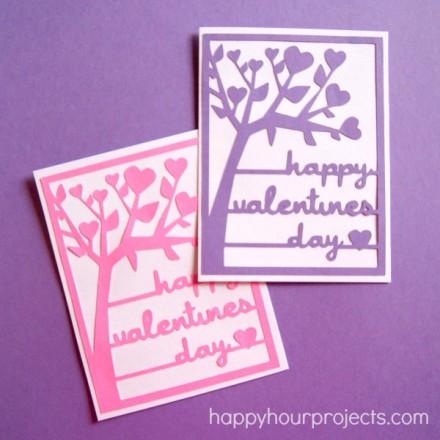 Free Silhouette Valentine's Day cut file