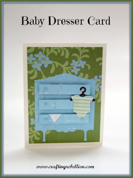 baby dresser card