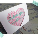 Paper Cut Valentine Card