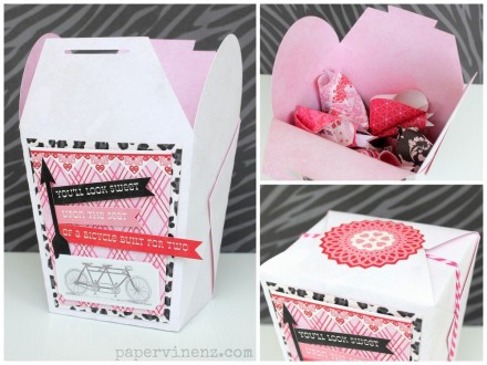 Valentine's Day Fortune Cookie Set from Papervine