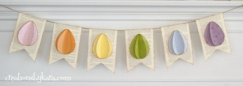 Egg Banner by Creations by Kara