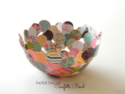 Tutorial - Confetti-Bowl by Carolyn's Homework
