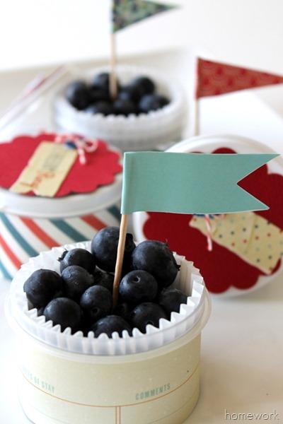 Show & tell - Easy Patriotic Berry Cups via Homework