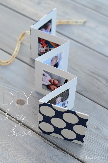 diy brag book for Mother's Day from Nalle's House