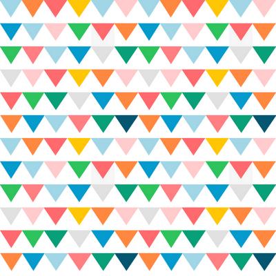Freebie Colorful Flag Digital Scrapbooking Paper Scrap Booking