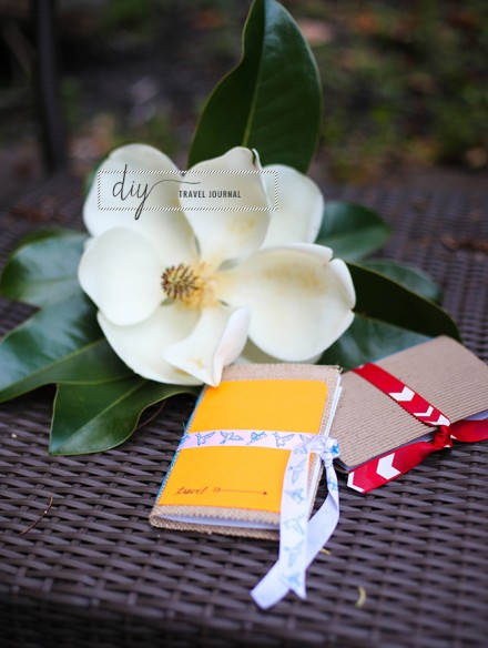 Tutorial- DIY purse sized travel journal at Henry Happened