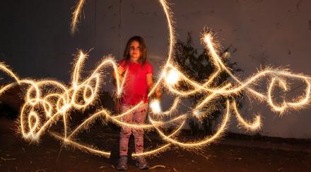 Tutorial - Sparkler Photgraphy by Jennifer Valencia at Pixels & Co