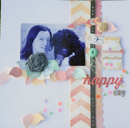 Inspiration du Jour - Happy Day by Valerie Huang
