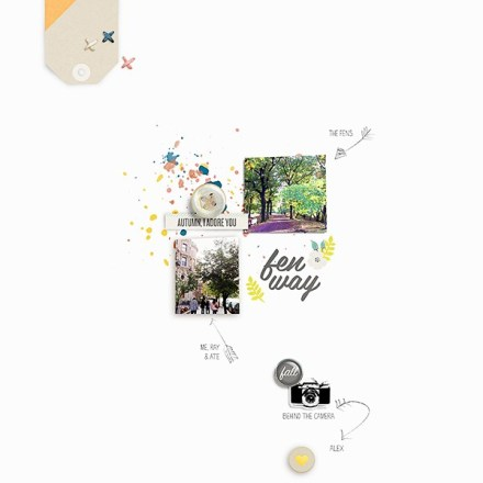 Inspiration du Jour - Fenway by AnalogPaper