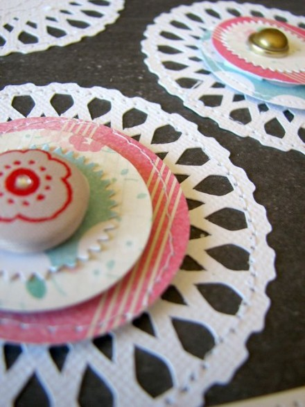 Freebie - Doily cut file from Nicole Nowosad at Scrapbook and Cards Today