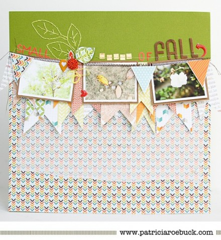 Inspiration du Jour - Small Signs of Fall by Patricia Roebuck