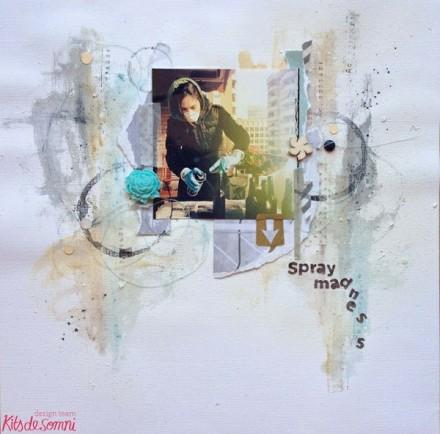 Inspiration du Jour - Spray Madness by Marta A