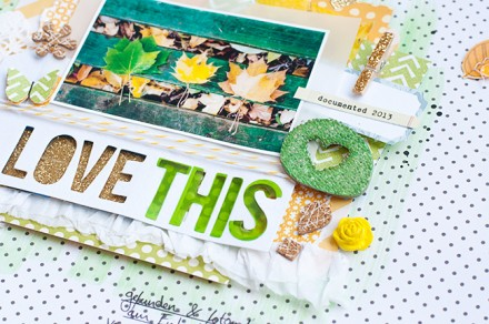 Tutorial - Adding Dimension to Scrapbook Pages