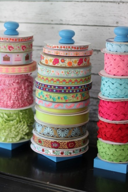 Tutorial - DIY Ribbon Storgae by Craft Storage Ideas