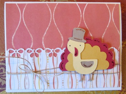 Tutorial - create-a-critter-2-turkey-card by PS I Love You Scrapbooking