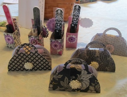 Gift idea - Purse Gift Bag from PS I Love You Scrapbooking