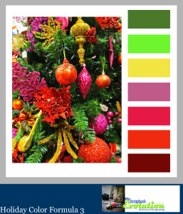 Holiday Color Schemes by My Scrapbook Evolution
