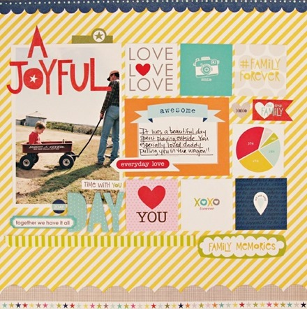 Inspiration du Jour - A Joyful Day by mommy2tate