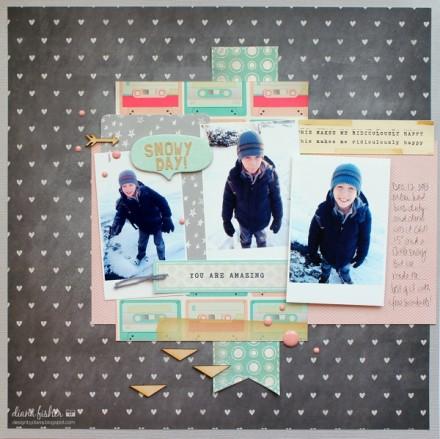Inspiration du Jour - Snowy Day by dianaj1012