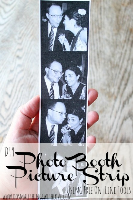 DIY-Photo-Booth-Picture-Strip at Do Small Things With Love
