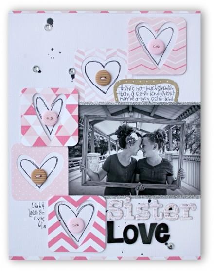 Inspiration du Jour - Sister Love by kellyrholbrook