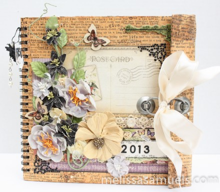 Show & tell - Year in the Life Book by Melissa Samuels