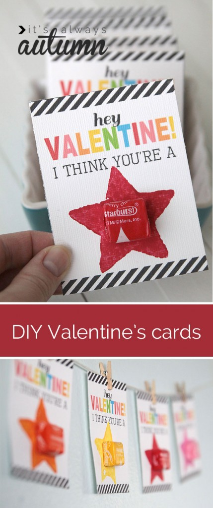 Tutorial - Valentine's Kid Cards at It's Always Autumn