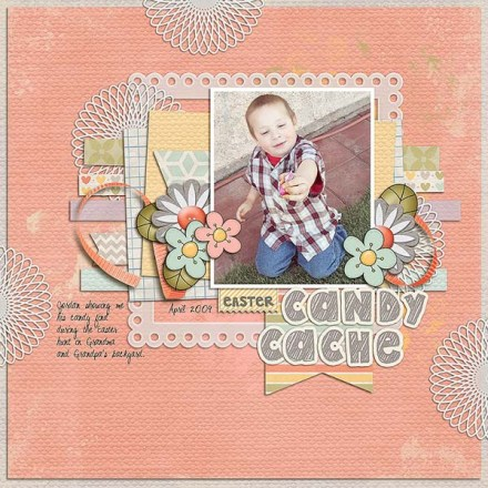 Inspiration du Jour - Candy Cache by Natalie C