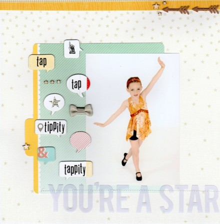 Inspiration du Jour - You're a Star by Shirlee