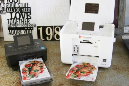 Product Review - Canon Selphy vs Epson Picturemate by Kerri Bradford