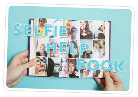 Selfie help book from PhotoJojo