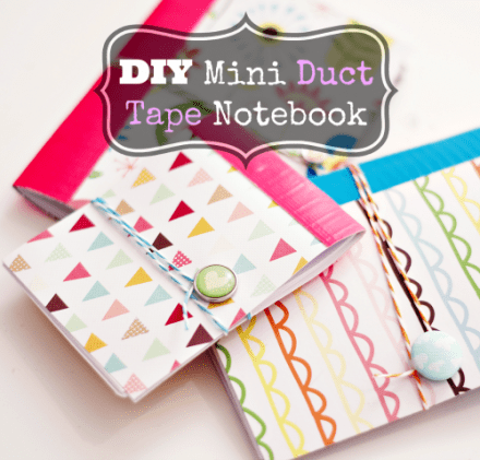 Tutorial - DIY Mini Patterned Notebook