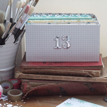 Tutorial - Easy Photo Storage Box at Things That Shine