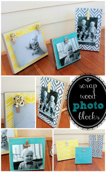 Tutorial - Scrap Wood Photo Blocks at Juggling Act