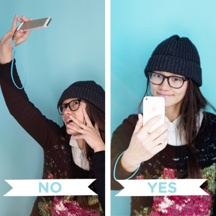 selfie help book Dos and Donts from PhotoJojo