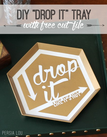 Freebie - Drop it Like it's Hot Silhouette Cut File from Persia Lou